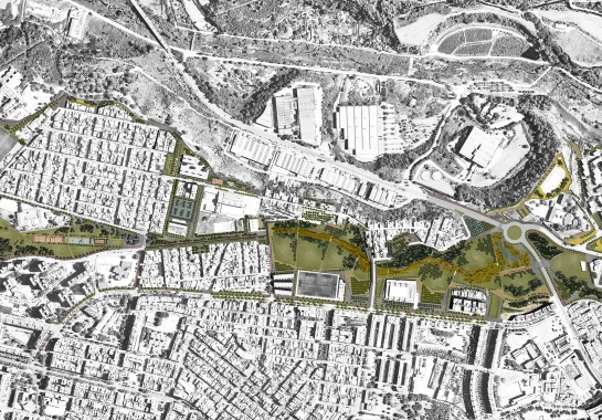 [SECOND POSITION] at SABADELL PARC DEL NORD CONTEST | EFA Arquitectes, Sabadell